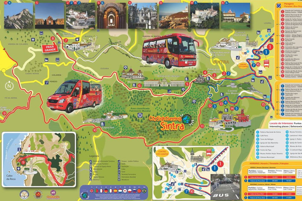 Sintra Hop On Hop Off Bus Tour Book Online At Civitatis Com