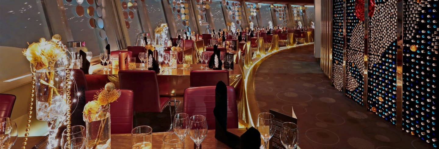Luxury Dinner at the TV Tower Restaurant
