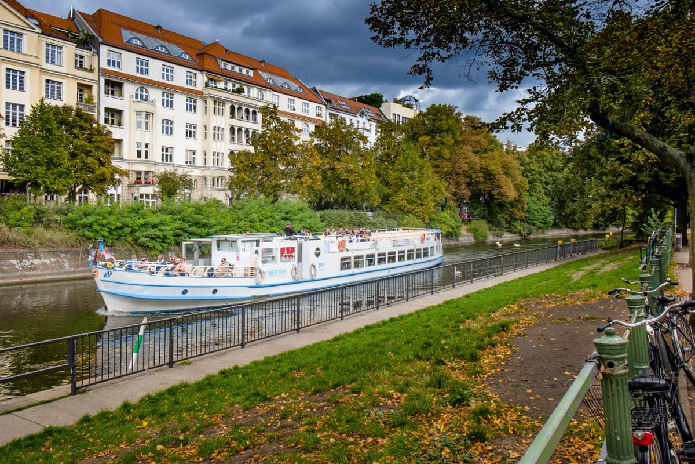 ,Crucero Río Spree,Spree + Landwehrkanal