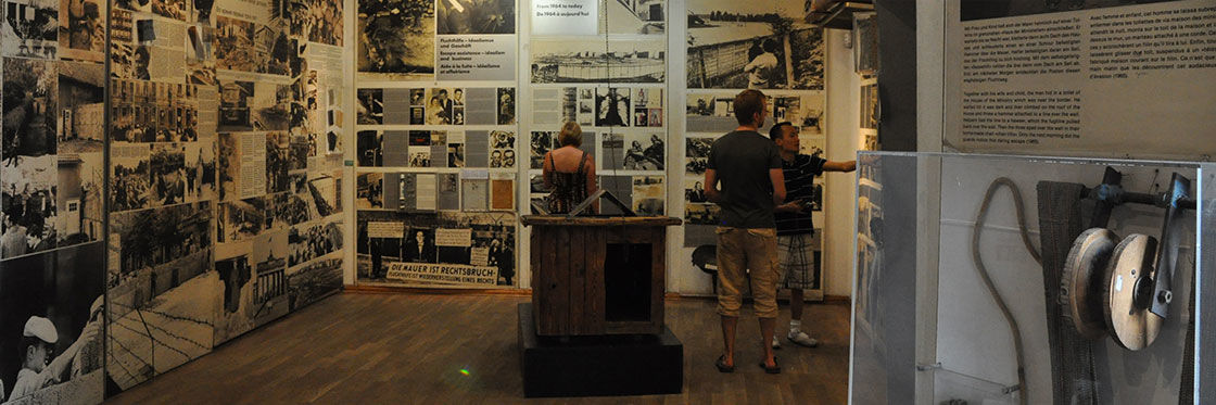 Checkpoint Charlie Museum in Berlin