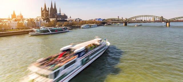 Paseo en barco por Colonia
