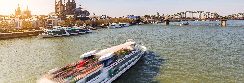 Balade en bateau dans Cologne