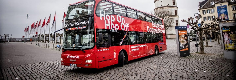 Bus touristique de Düsseldorf