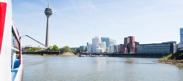 Paseo en barco por Düsseldorf