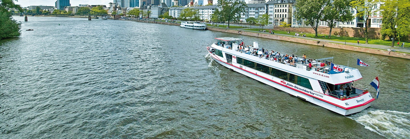 Boat Cruise from Frankfurt