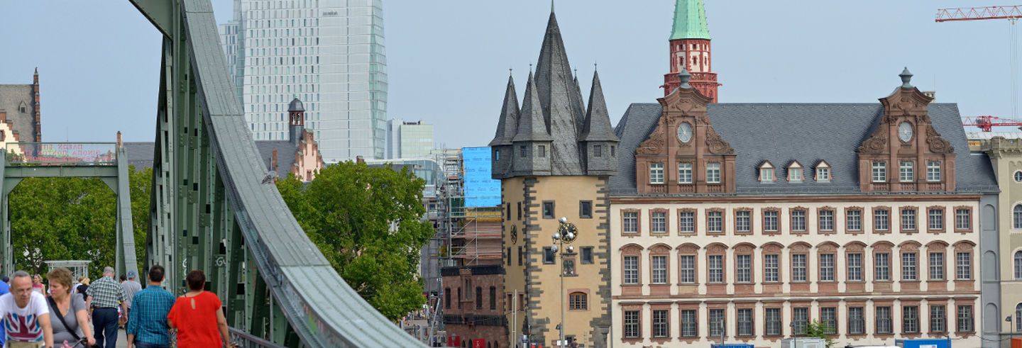 Panoramic Bus and Walking Tour of Frankfurt