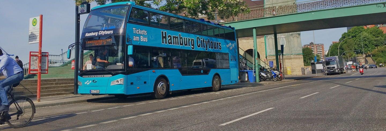 Hamburg Hop On Hop Off Bus Tour