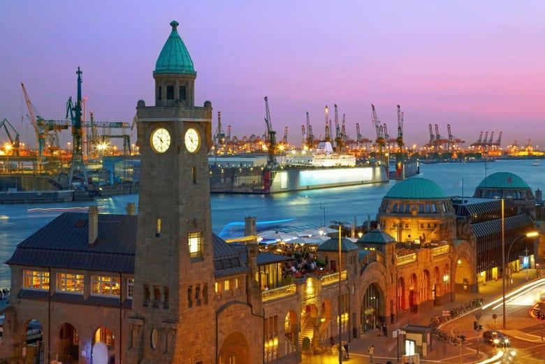 ,Tour por Hamburgo