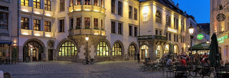Cena en la cervecería Hofbräuhaus + Subida a Olympiaturm