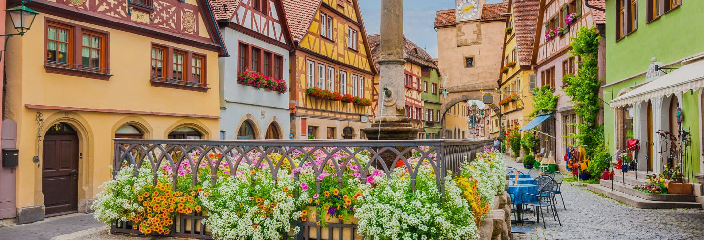 Harburg Castle and Rothenburg Day Trip