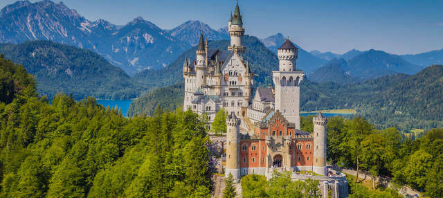 Excursión al castillo de Neuschwanstein en tren