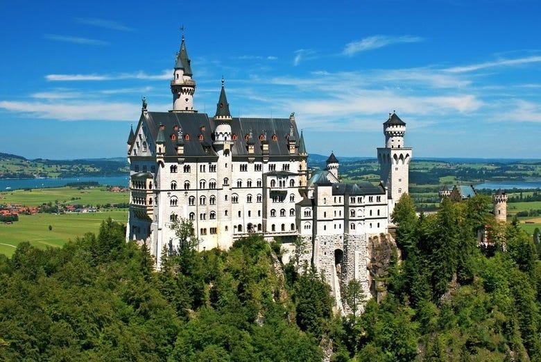 ,Castillo de Neuschwanstein,Con visita a Linderhof,Tour por los Castillos