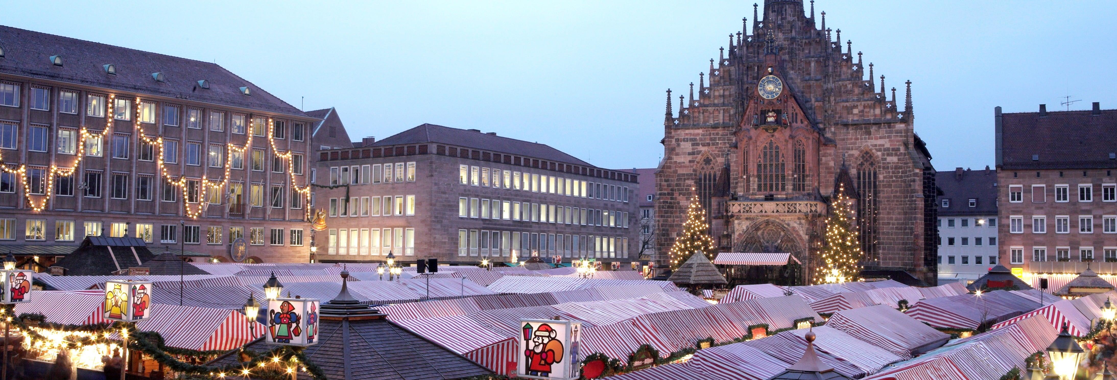 Tour dei mercatini di Natale di Norimberga