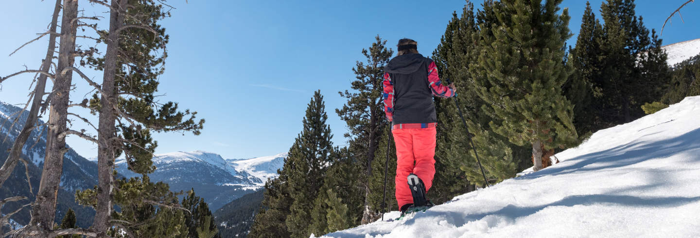 Paseo con raquetas de nieve por Grandvalira