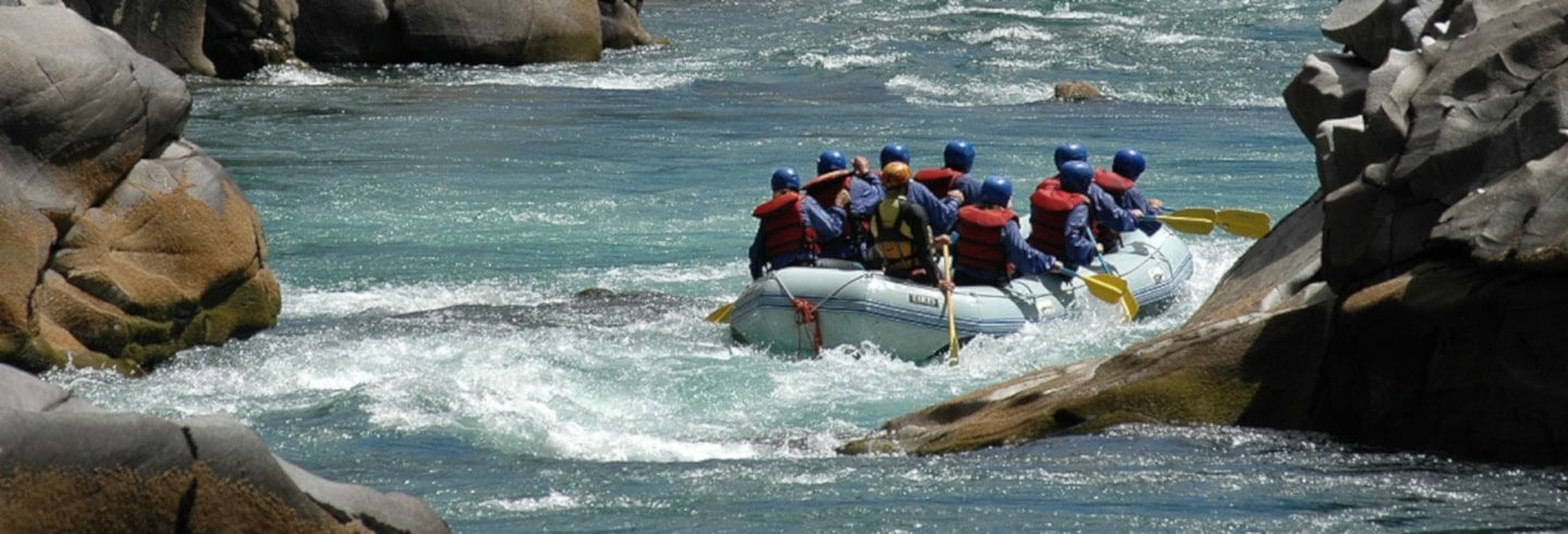 Chilean Border Rafting Adventure
