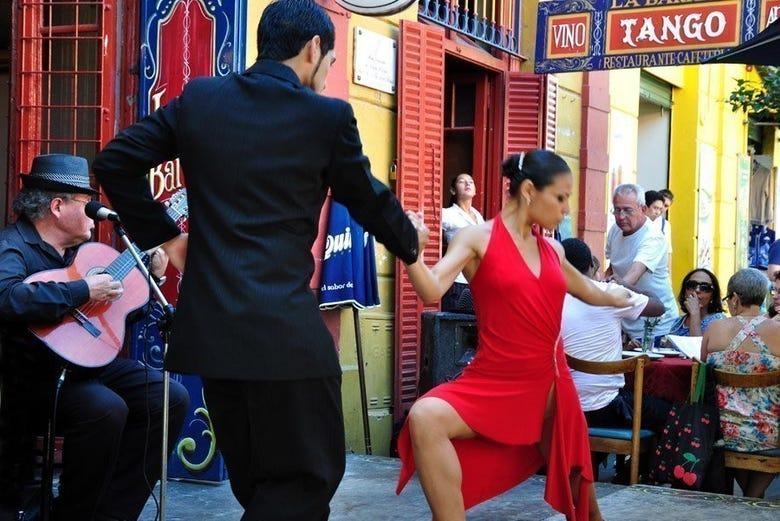 Buenos Aires y el tango, su imagen más conocida
