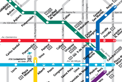 Mapa del Subte de Buenos Aires
