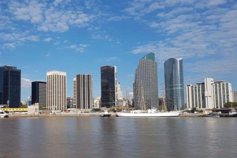 Giro in barca sul Río de la Plata, Buenos Aires
