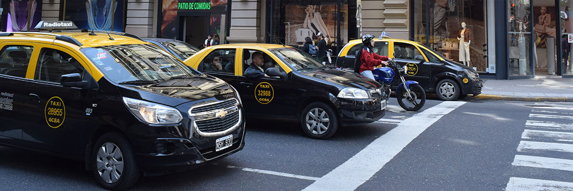 Taxis en Buenos Aires