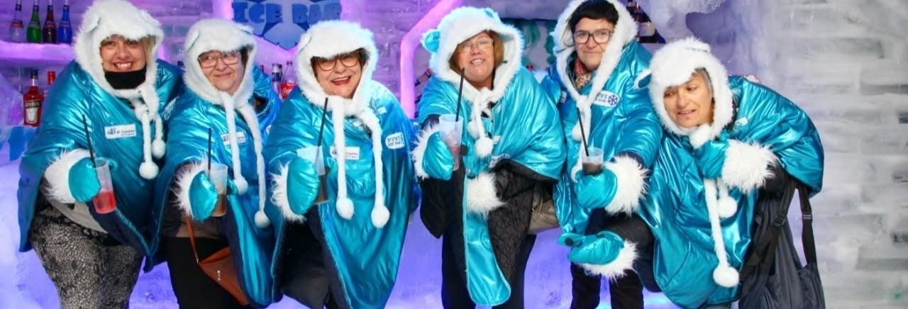 Entrée à l'Ice Bar