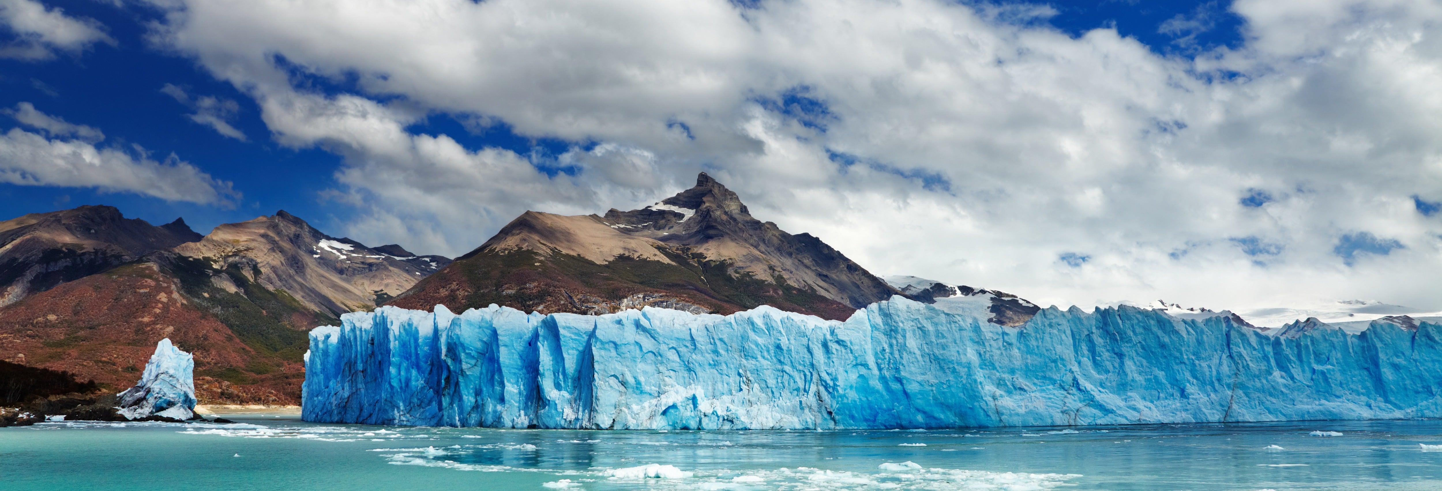 Kayak dans le glacier Perito Moreno