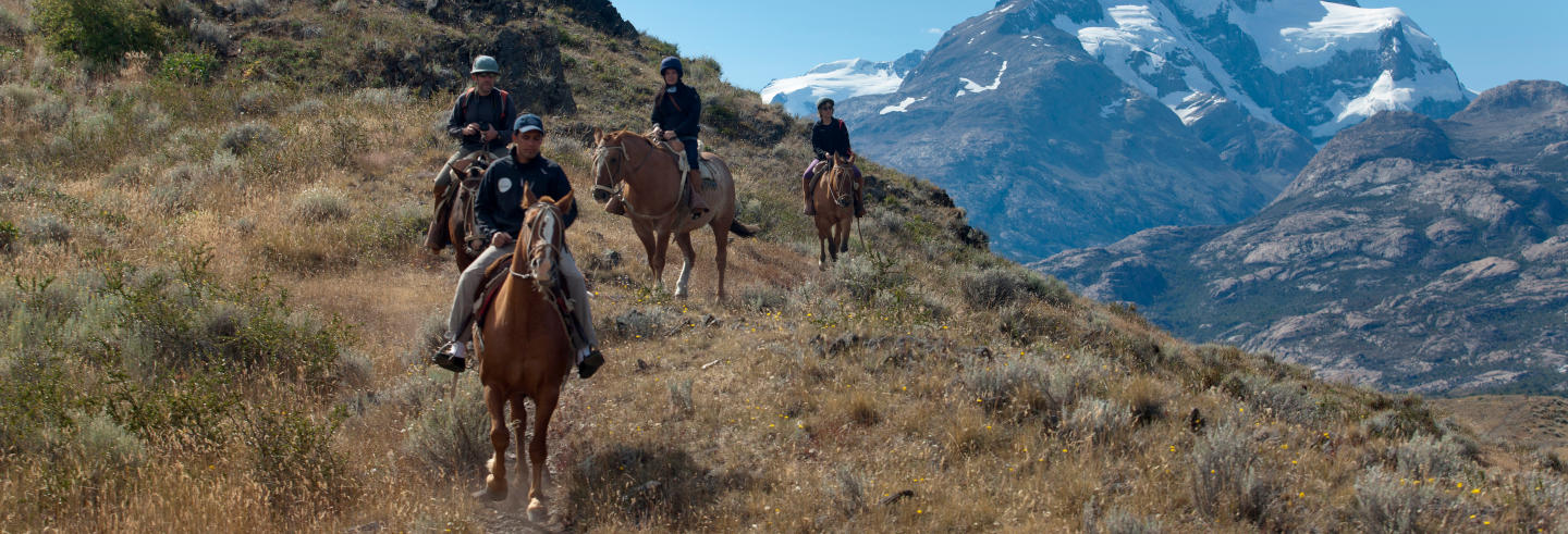Giro a cavallo a Estancia Cristina
