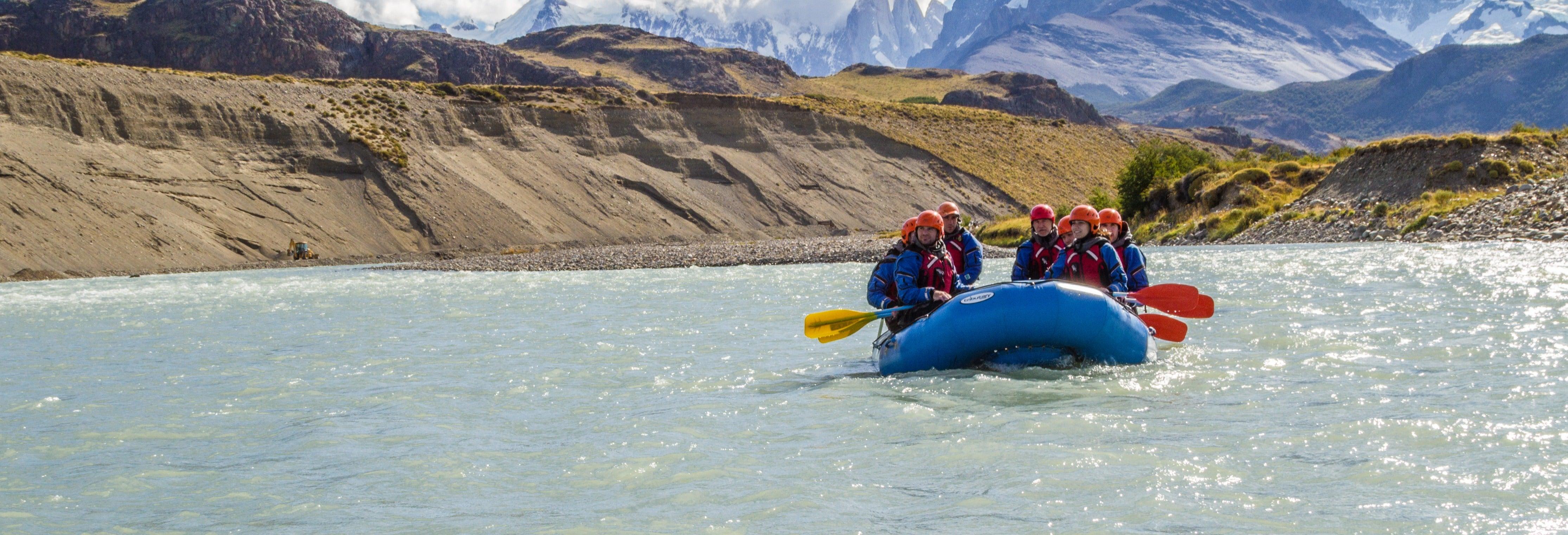 Rafting en el río de las Vueltas
