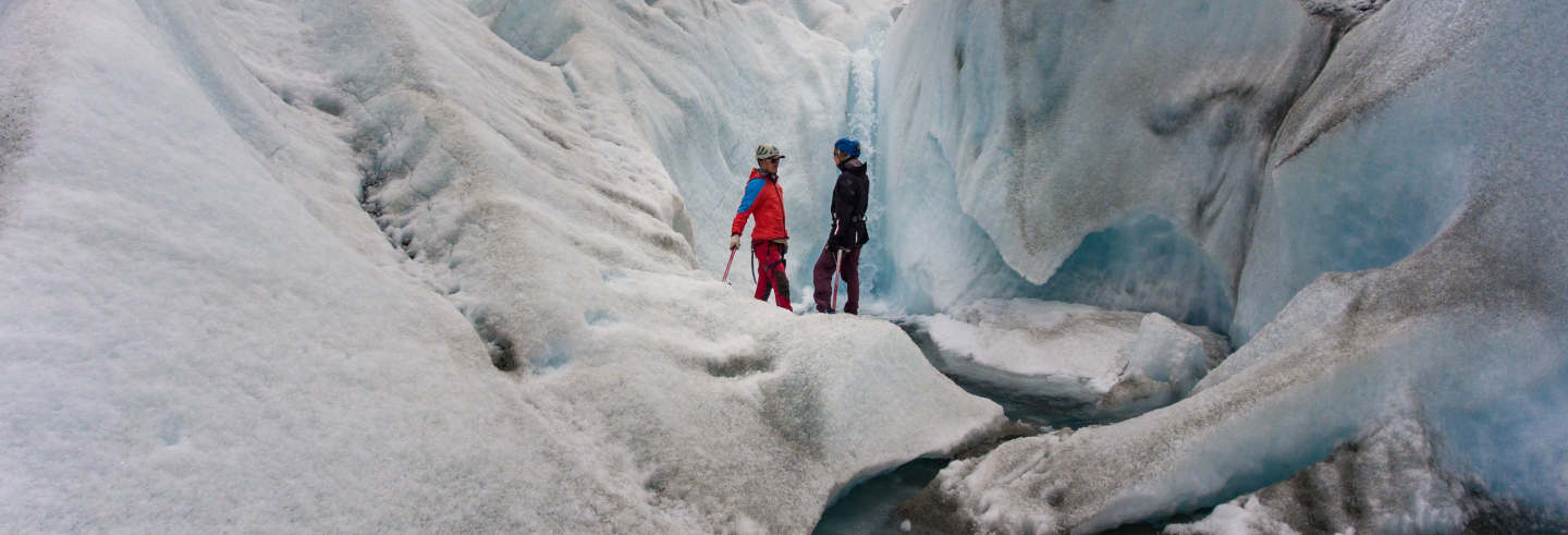 Trekking di 2 giorni sul ghiacciaio Cagliero