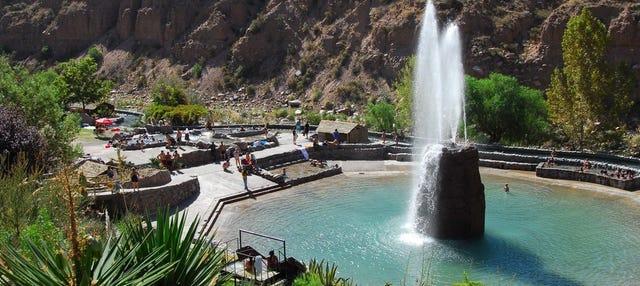 Excursión a las termas y spa de Cacheuta