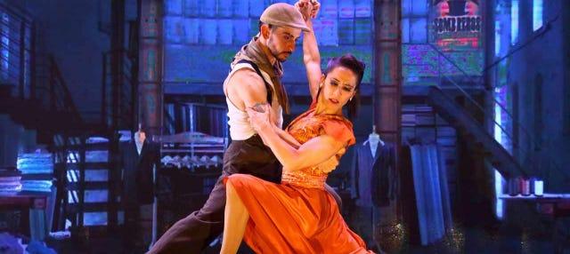 Espectáculo en Madero Tango