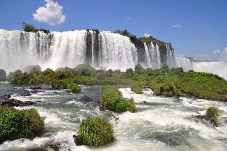 Cataratas De Iguazu Lado Argentino Mapa.Iguazu Falls Trip Brazil