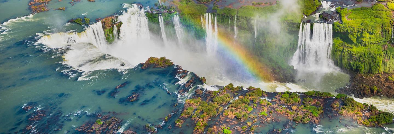 Passeio de helicóptero pelas Cataratas do Iguaçu