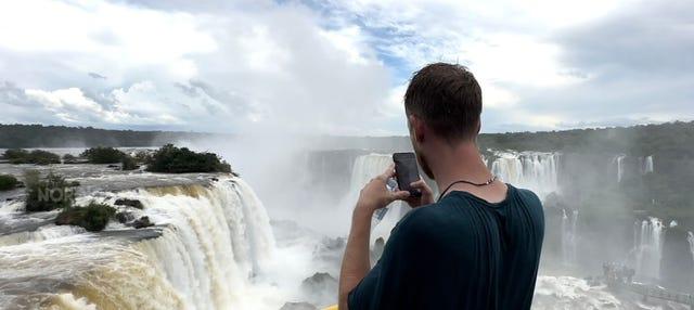 Cataratas de Iguazú (lado brasileño)
