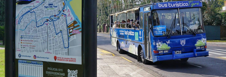 Autobús turístico de Tigre