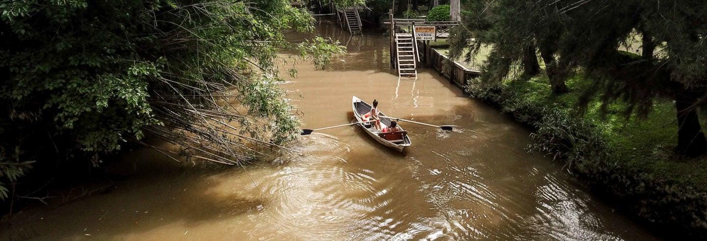 Tour de 2 días en barca por el delta del Tigre