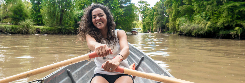 Tour in barca sul delta del Tigre