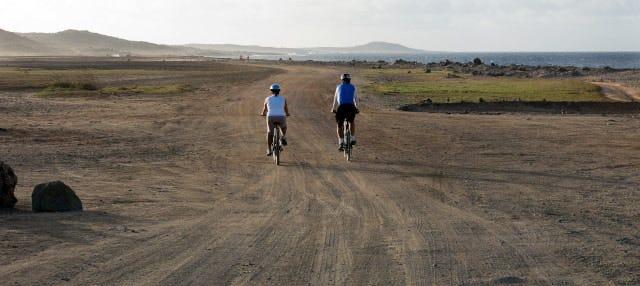 Tour en bicicleta por el norte de Aruba