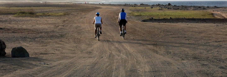 Tour del nord di Aruba in bici