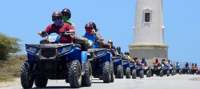 Tour en buggy o quad por Aruba