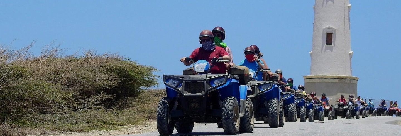 Tour de buggy ou quadriciclo por Aruba