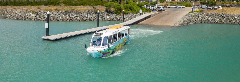 Tour en autobús anfibio por Airlie Beach