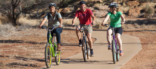 Tour en bicicleta por Alice Springs