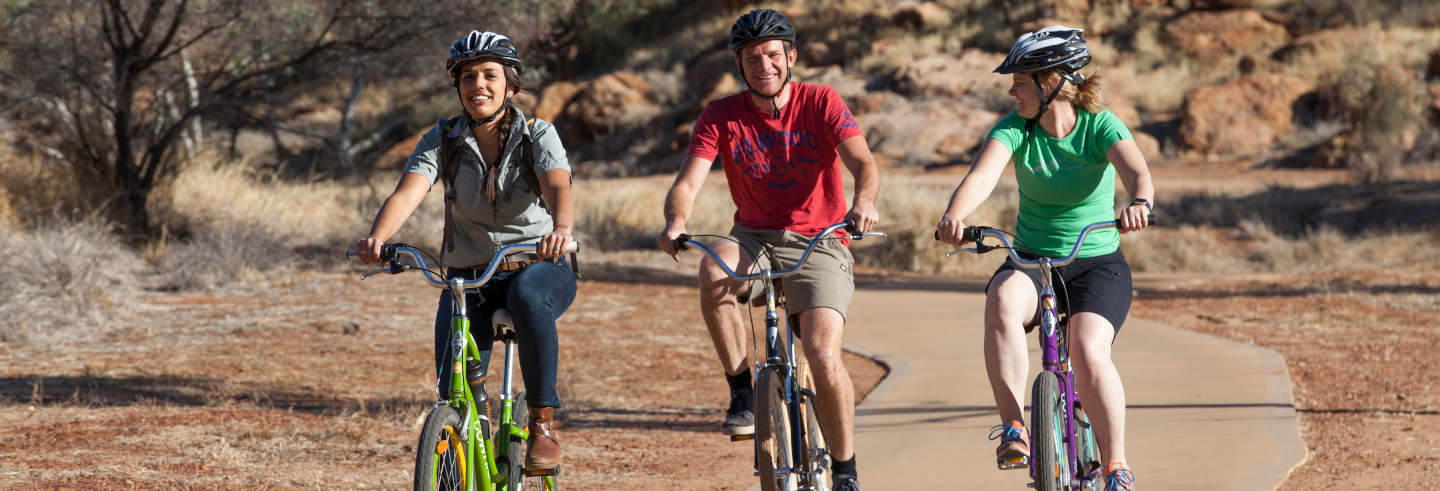Tour en bicicleta por Alice Springs