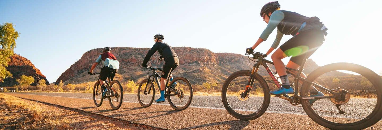 Tour de bicicleta pelo deserto de Alice Springs