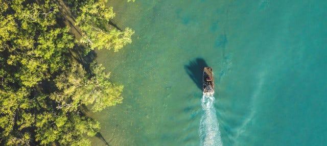 Paseo en aerodeslizador por Darwin