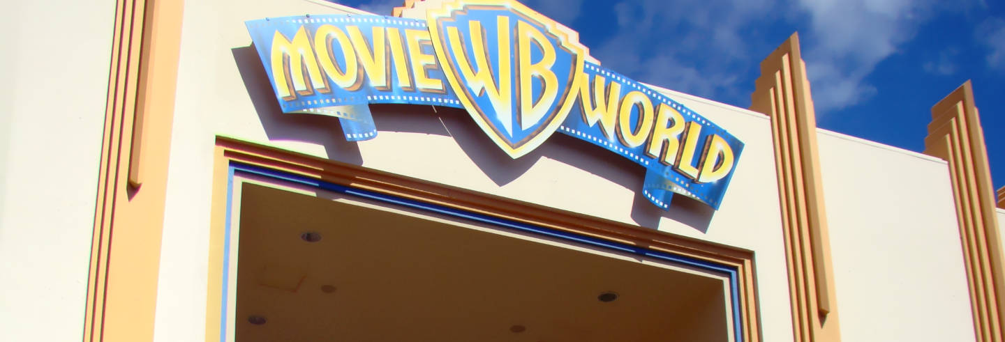 Ingresso do Warner Bros. Movie World