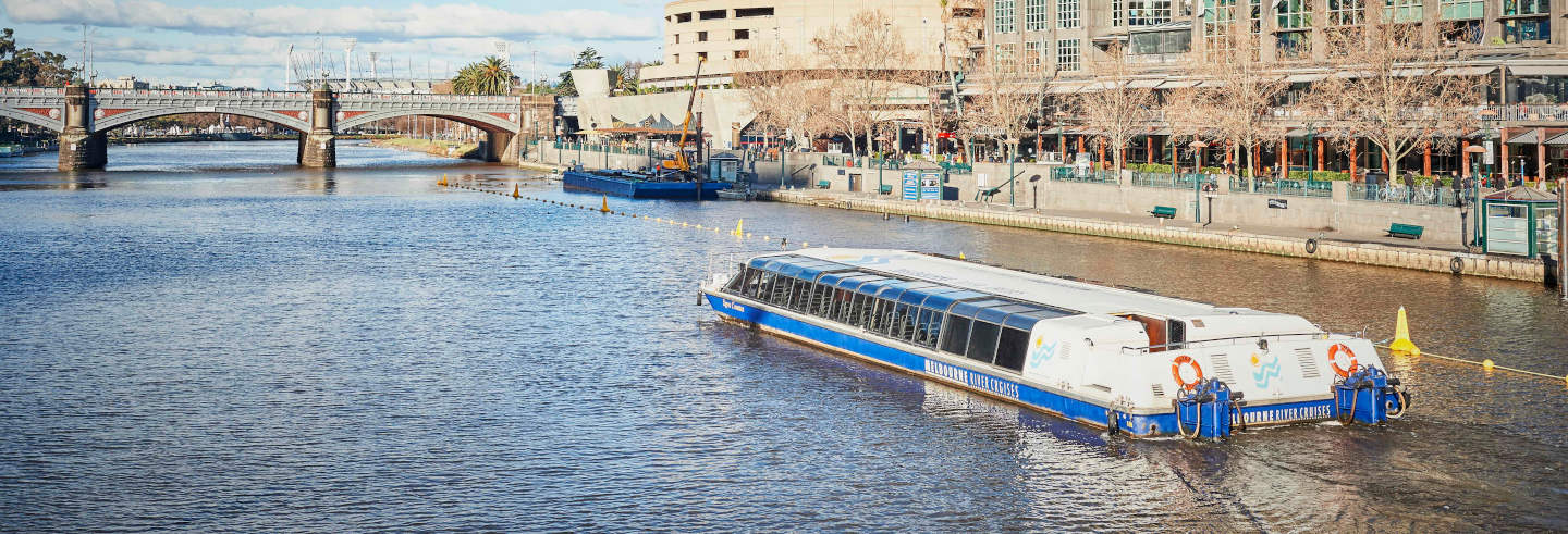 Passeio de barco por Melbourne