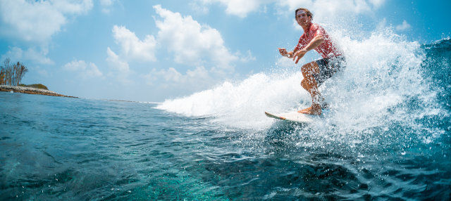 Curso de surf en Double Island Point