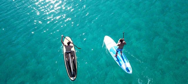 Tour en paddle surf por Double Island Point