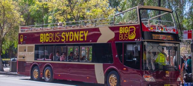 Autobús turístico de Sídney